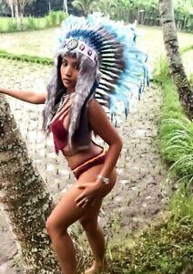 war bonnet Mega indian headdress Little Big Horn Coiffe Indienne Wakatobi 2021