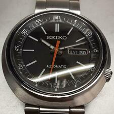 Seiko SRPC11K1 Day Date 24 Jewels Box Automatic Mens Watch Authentic Working