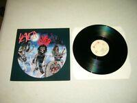 SLAYER --- rare original 1987 LIVE UNDEAD LP!!! speed black