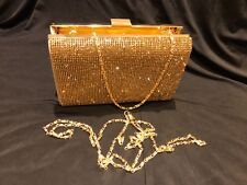 SPARKLY GOLD Ladies Clutch/Hand Bag Wedding, Prom,Evening Party.Great Quality