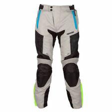 Pantalones de textil de color principal azul para motoristas