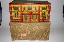 1920's Tippco Made in Germany Double Door Garage With Original Box, Nice