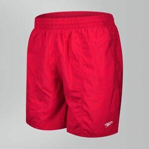 "Men's Speedo 16"" Watershorts Swimming Shorts Red XL (Tag Marked)"