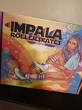 Impala Quad Roller Skates Size 8 Leopard Print