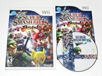 Super Smash Bros. Brawl Nintendo Wii Game Complete 2008