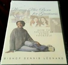 Women are Born for Greatness- How to Succeed at Being Yourself (DVD) Rare & OOP