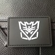 Decepticon Transformers AIRSOFT 3D ARMY MORALE PVC RUBBER PATCH