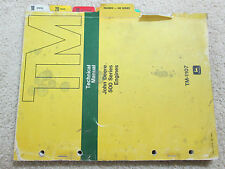 John Deere 500 Series Engines Technical Manual TM-1107