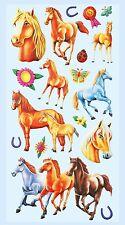 Softsticker Sticker Aufkleber Embellischment ZierstickerPferde Pferd Pferdekopf