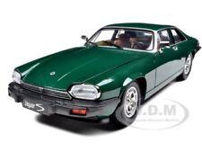 1975 JAGUAR XJS COUPE GREEN 1/18 MODEL CAR BY ROAD SIGNATURE 92658