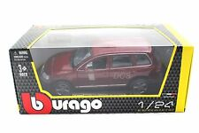 Bburago Volkswagen Touareg Burgundy 1/24 Diecast Car 22015RD