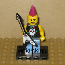 LEGO Mini Figure 8804 Series 4 Minifig Punk Rocker New without Package