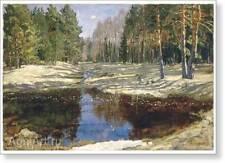 "Spring in the Forest. By Stanislav Zhukovsky. Fine Art Print New 20 x 28"""