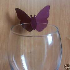 50 Butterfly Place Cards Glass Displays / Table Decorations / Parties / Weddings