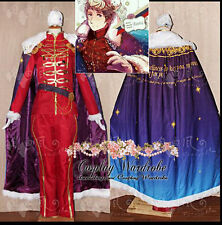Axis Powers Hetalia APH Russia Military Cosplay HAT Outfit Costume Cape CD cover