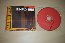 Simply red - Ain't that lot of love . CD-Single PROMO (CP1704)