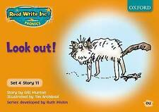 Read Write Inc. Phonics: Orange Set 4 Storybooks: Look Out! by Ruth Miskin,...
