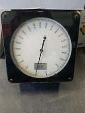 Hersey Pneumatic Master Model 0-10,000 Gal Pressure Gauge