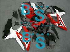 Red whiteGSXR600 Fairing Fit SUZUKI GSX-R600 GSX-R750 2009 2008-2010 033 A4