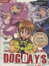 DVD Dog Days Season 1 + 2 (TV 1 - 26 End) DVD + Free Mystery Gift