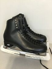 Riedell Black Leather Mens Ice Skates Size 10.5 D Model 133