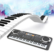 61 Full Key Electronic Keyboard Piano Music Instruments Musical Keyboards Gift @