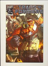Transformers Gen 1 #1 Chrome Foil Variant Cover! 2002 Dw Comics! See Scans! Wow!