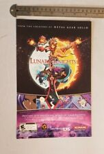 Lunar Knights Video Game RARE Print Advertisement