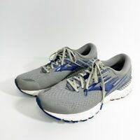 Brooks  Brooks Running Adrenaline GTS 19 Mens Running Shoes Gray Blue Size 12.5
