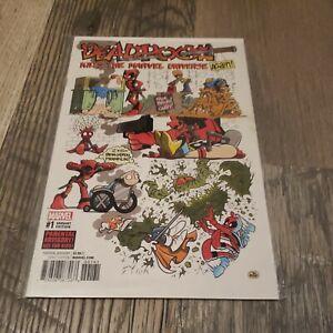 Deadpool Kills the Marvel Universe Again! #1 Variant Cover