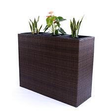pflanzk bel aus rattan ebay. Black Bedroom Furniture Sets. Home Design Ideas
