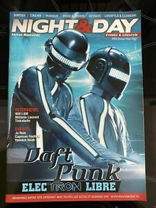 daft punk  Night & Day Magazine Mars 2011 RARE TRON