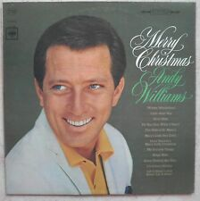 """ANDY WILLIAMS """"Merry Christmas"""" (Vinyle 33t / LP) 1965 -Pressage US -US Pressung"""