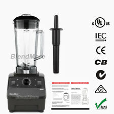 "NEW- BlendMore 6000 High-Quality Blender- 3 HP-2200W-64 oz-w/ ""Vitamix Cookbook"""