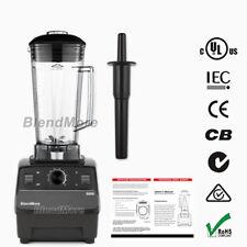 NEW- BlendMore 6000 High-Quality Blender- 3 HP-2200W-64 oz-w/