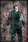 JASON VOORHEES FRIDAY THE 13th 20x30in Poster, Halloween Horror Print Free Ship