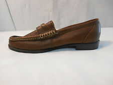 Candie's Brown Leather Loafers Women's Size 7 M