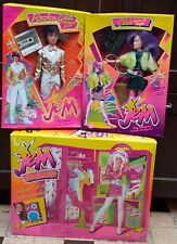 Lot Jem et les Hologrammes Clash + Rio Gold + Backstager Neuf Hasbro Vintage