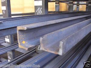 U-Stahl S235 roh-Metall Eisen Stahl U-Träger U-Eisen Profil Formstahl Stange UNP