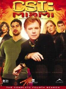 CSI Miami: The Complete Fourth Season DVD Boxset USA Region 1 New Sealed