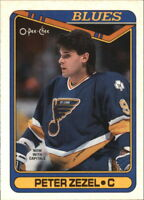 1990-91 O-Pee-Chee Hockey Base Singles (Pick Your Cards)