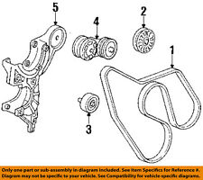 GM OEM-Serpentine Drive Fan Belt Tensioner 10229114
