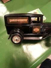 Ertl Harley Davidson Motorcycle ford model A  Die Cast Bank 1:25