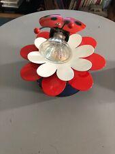 Applique Luminaire Lustre Cocinelle Enfant Metal Fleur