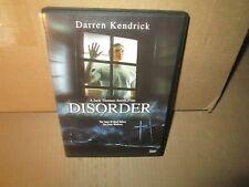 DISORDER rare Horror dvd DARREN KENDRICK Lauren Sekaly