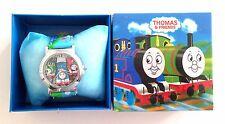 Fashion Thomas Cartoon Kids Gift Analog Quartz Cute Wrist Watch With Box Package