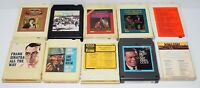 Lot of 10 Various Vintage 8-Track Tapes Some Rare As Shown In Pictures - Lot # 3