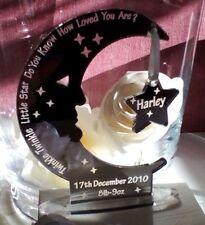 Personalised Newborn Baby Boy Girl Engraved Gift Keepsake Present Christening