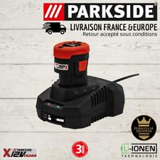 Parkside Batterie 2Ah & Chargeur 12V