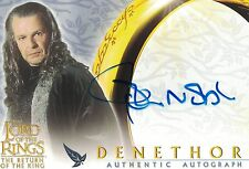 Lord of the Rings Return of the King: John Noble (Denethor) autograph